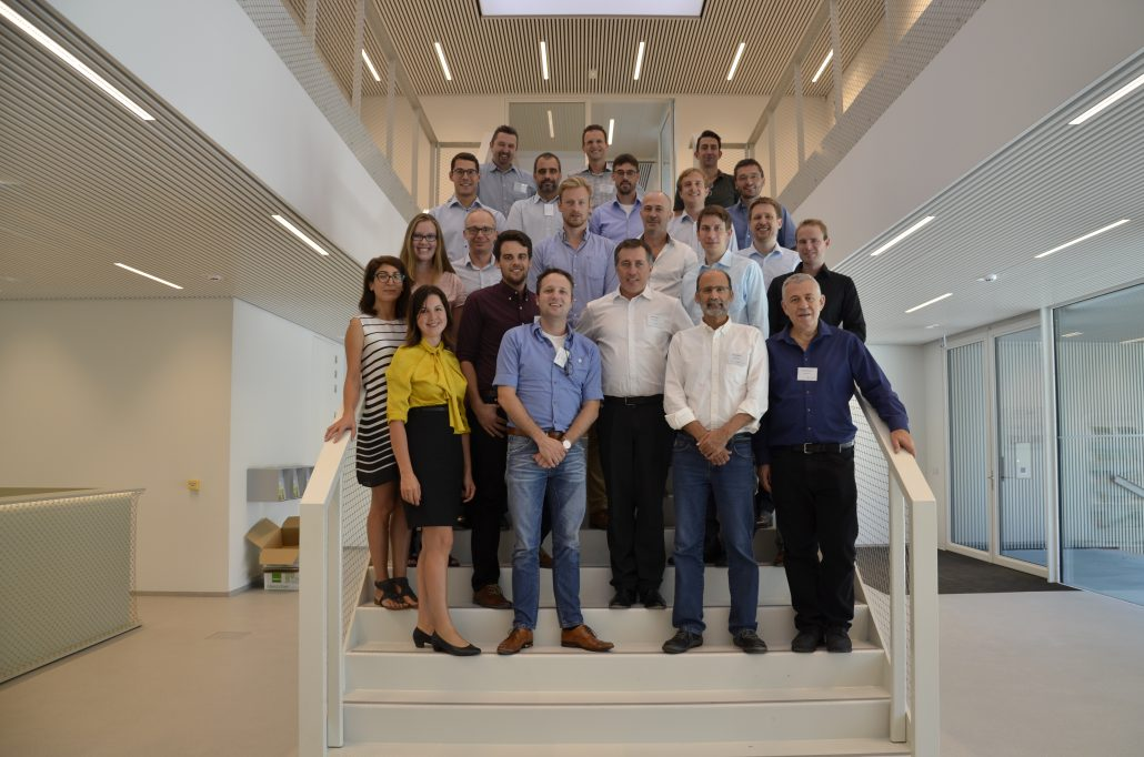 The consortium team photo