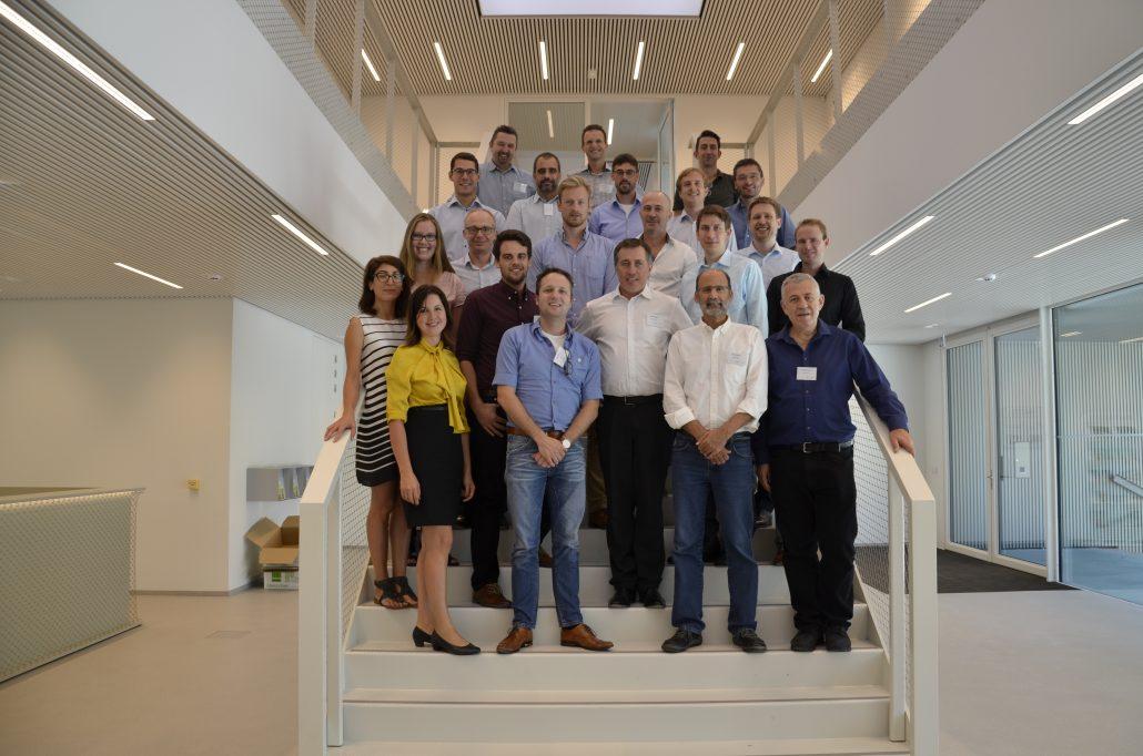 The consortium team photo